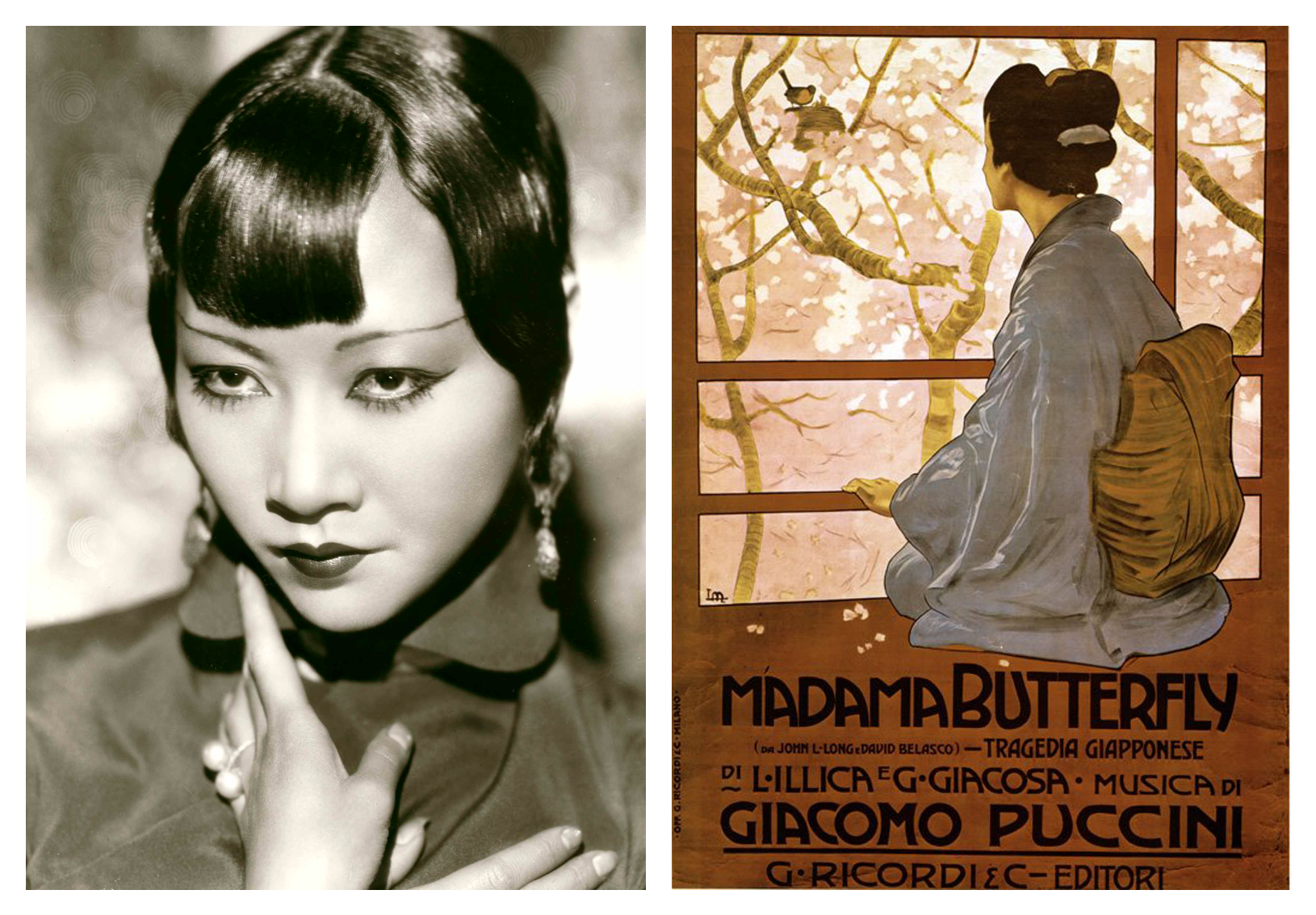 Anna May Wong and 'Madame Butterfly'