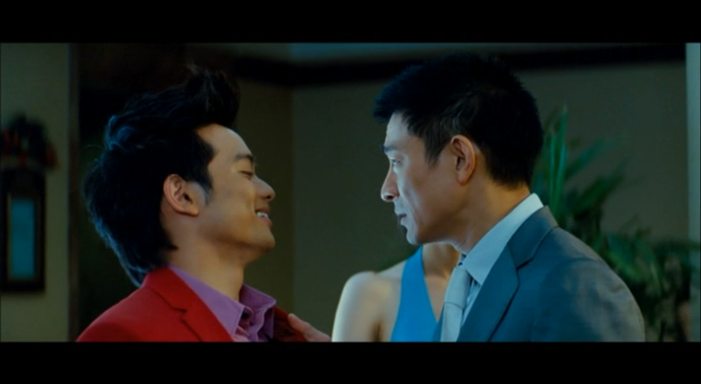 Screenshot - Osric Chau as Chen Erdong, facing off against Andy Lau in the 2011 Chinese adaptation of What Women Want. The film was distributed in North America by China Lion Film.