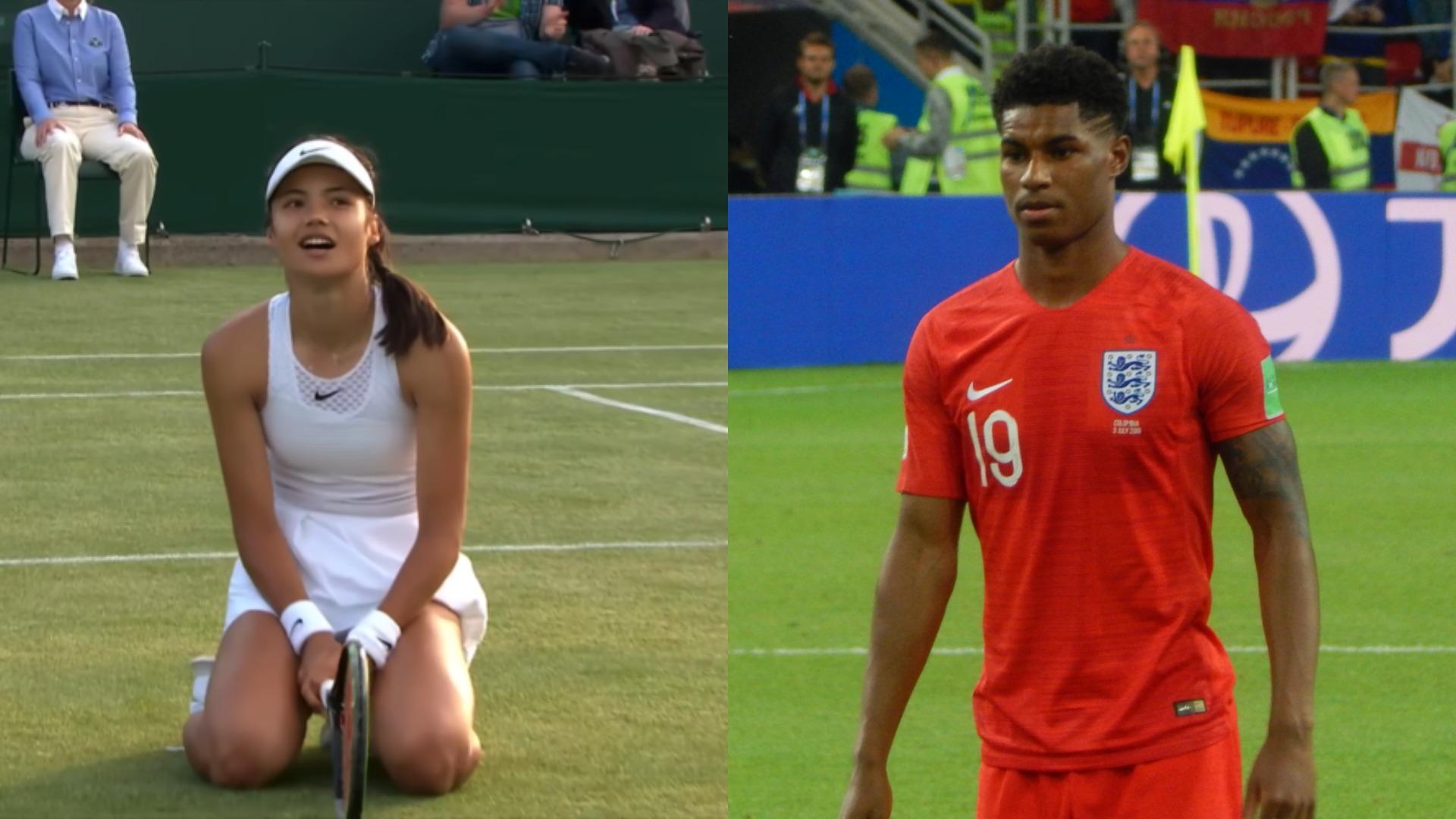Emma Raducanu 'extremely grateful' for Marcus Rashford following Wimbledon exit - Resonate
